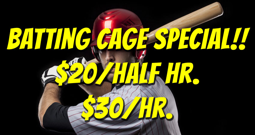 Batting Cage Special!